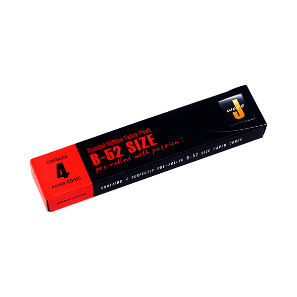 JWare B52 pre-rolled rolling paper