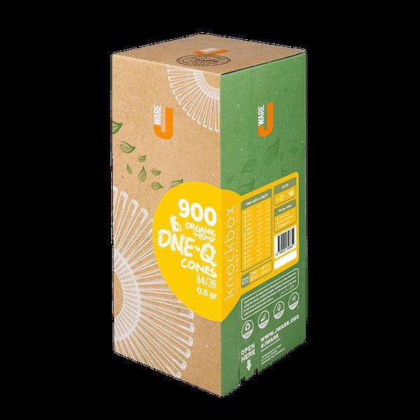 JWare One-Q pre-rolled rolling paper organic hemp