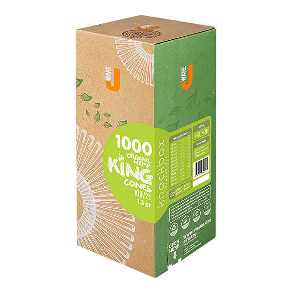 Jware King size pre-rolled rolling paper hemp