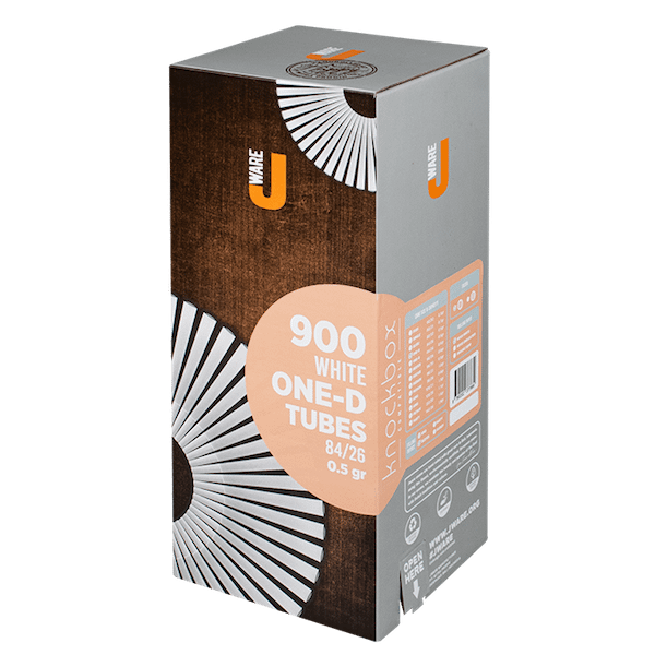 JWare-One-D-pre-rolled rolling paper wood white