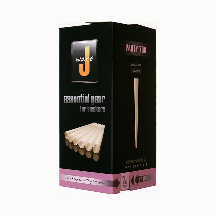 JWare party size pre-rolled rolling paper